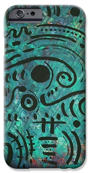 Symbolism Of The Hand iPhone Cases - Rainforest iPhone Case by Venus