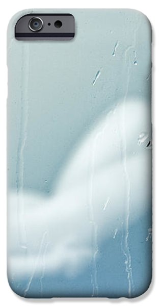 Rainy Day Dream Away iPhone Case by Bob Orsillo