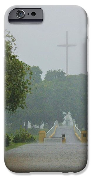 Nombre iPhone Cases - Rainy Day iPhone Case by Iryna Burkova