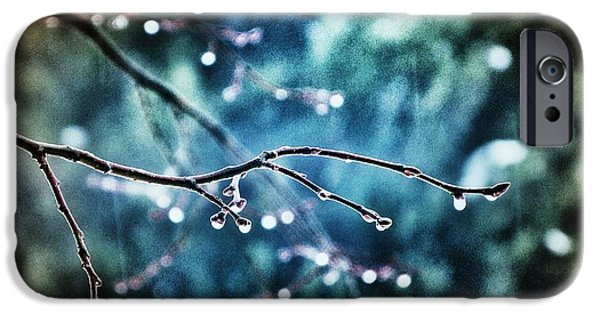Rainy Day iPhone Cases - Rainy Day iPhone Case by Marianna Mills