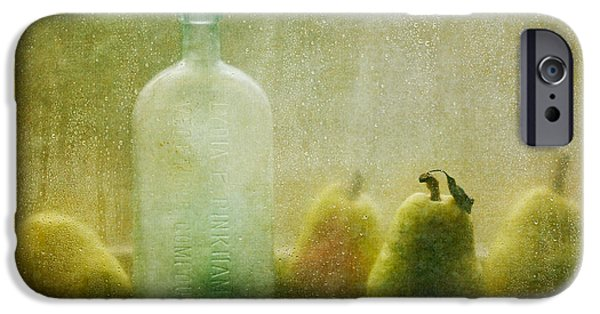 Pear iPhone Cases - Rainy Days iPhone Case by Amy Weiss