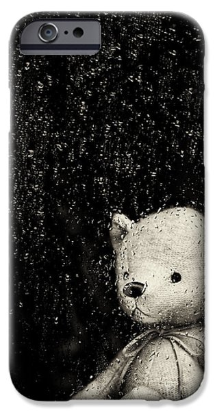 Rainy Days iPhone Case by Tim Gainey