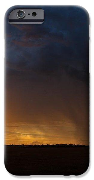 Rainy Sunset  iPhone Case by Brandon  Ivey