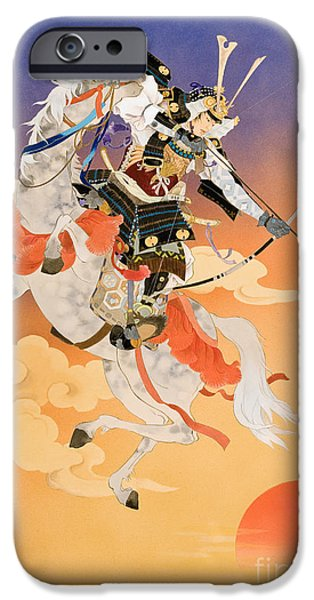 Rakujitsu iPhone Case by Haruyo Morita
