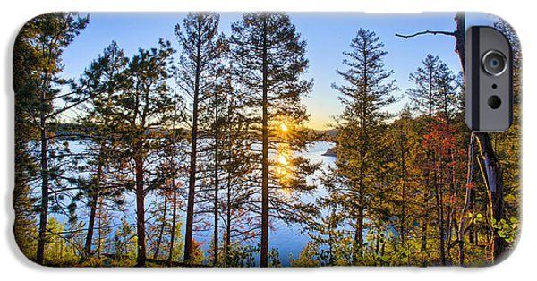 Wildfire iPhone Cases - Rampart iPhone Case by Thomas Zimmerman