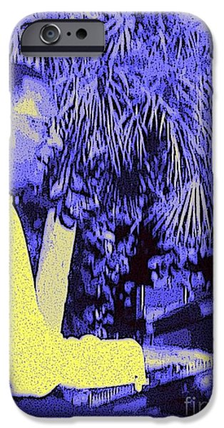 Piano iPhone Cases - Ramsey Lewis Concert 2007 iPhone Case by Barbie Corbett-Newmin