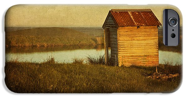 Shed iPhone Cases - Ramshackle iPhone Case by Amy Weiss
