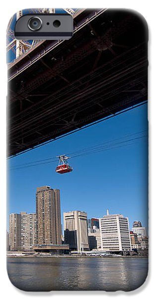 Randall Island Tram iPhone Case by Amy Cicconi