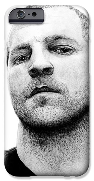 Randy iPhone Cases - Randy Armstrong iPhone Case by Kayleigh Semeniuk