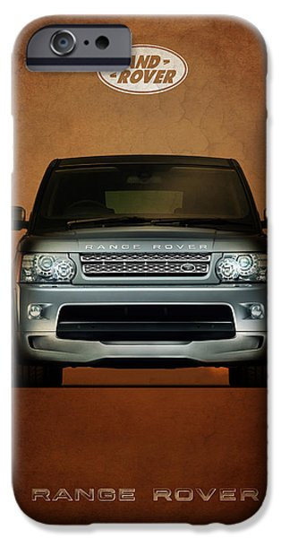 Range iPhone Cases - Range Rover iPhone Case by Mark Rogan
