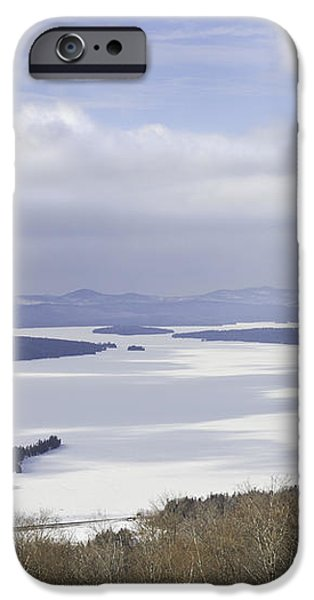 Rangeley Maine Winter Landscape iPhone Case by Keith Webber Jr