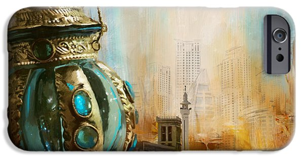 Museum Paintings iPhone Cases - Ras Al Khaimah iPhone Case by Corporate Art Task Force