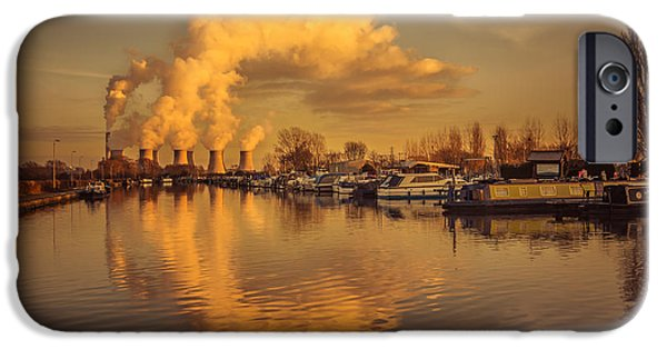 Fletcher iPhone Cases - Ratcliffe-On-Soar iPhone Case by Chris Fletcher