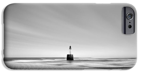 Lighthouse iPhone Cases - Rattray Head Lighthouse iPhone Case by Dave Bowman