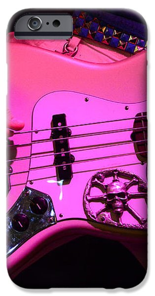 Raunchy Guitar iPhone Case by Bob Christopher