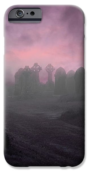 Rave in the Grave iPhone Case by Terri  Waters