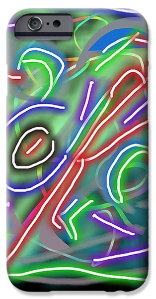Abtracts iPhone Cases - Ravish iPhone Case by Travis Fors