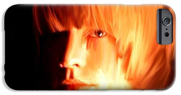 The Main iPhone Cases - Raw Stone  Brian Jones iPhone Case by Iconic Images Art Gallery David Pucciarelli