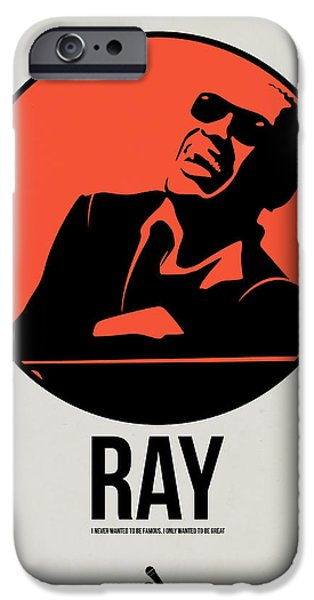 Piano iPhone Cases - Ray Poster 1 iPhone Case by Naxart Studio