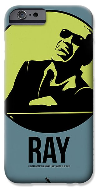Piano iPhone Cases - Ray Poster 2 iPhone Case by Naxart Studio