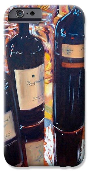 Raymond Vineyards Crystal Cellar iPhone Case by Donna Tuten