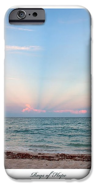 Rays of Hope iPhone Case by Michelle Wiarda