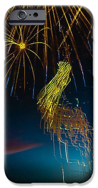 Rays Of Light From Above iPhone Case by Robert Bales