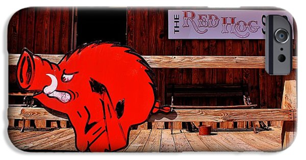 Sec iPhone Cases - Razorback Country iPhone Case by Benjamin Yeager