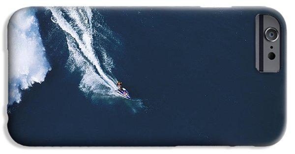 Big Wave iPhone Cases - Razors edge iPhone Case by Sean Davey