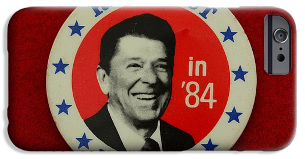 Americans Elect iPhone Cases - Re-Elect Reagan iPhone Case by Paul Ward