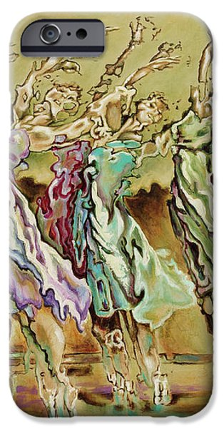 Reach Beyond Limits iPhone Case by Karina Llergo Salto