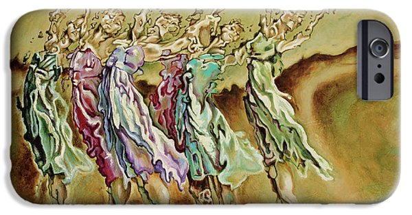 Human Figure iPhone Cases - Reach Beyond Limits iPhone Case by Karina Llergo Salto