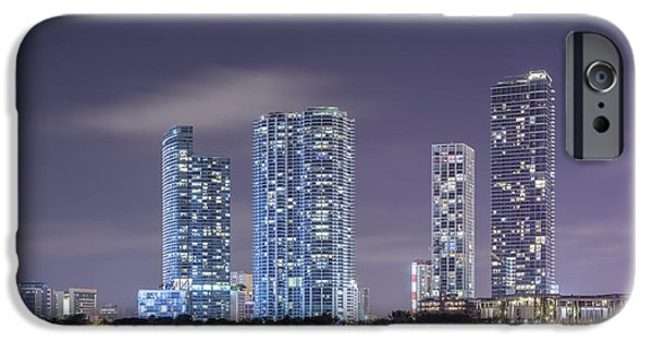 Miami Photographs iPhone Cases - Reach For The Stars iPhone Case by Evelina Kremsdorf