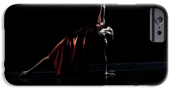 Ballet Dancers Photographs iPhone Cases - Reach for the Stars iPhone Case by Lone  Dakota Photography