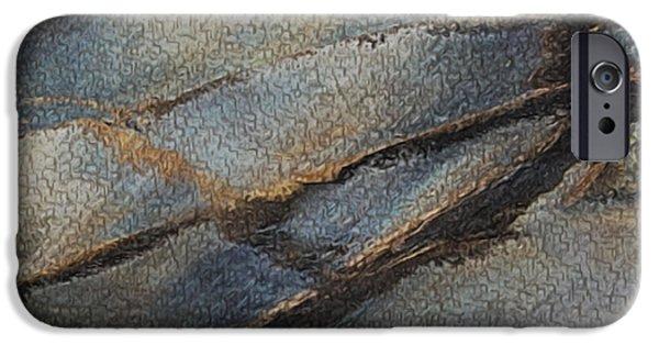 Soil Digital Art iPhone Cases - Reach iPhone Case by Jack Zulli