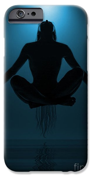 Water iPhone Cases - Reaching Nirvana.. iPhone Case by Nina Stavlund