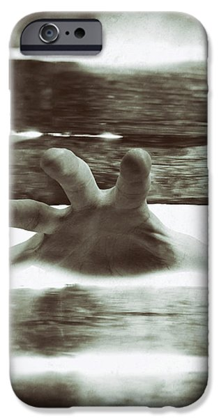 Reaching Out iPhone Case by Wim Lanclus