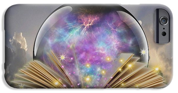 Orb iPhone Cases - Read a Book iPhone Case by Cheryl Young