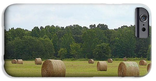 Haybale iPhone Cases - Ready for Pick Up iPhone Case by CarolLMiller Photography