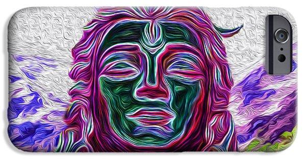Hindu Goddess iPhone Cases - Ready for Shakti iPhone Case by Tarik Eltawil