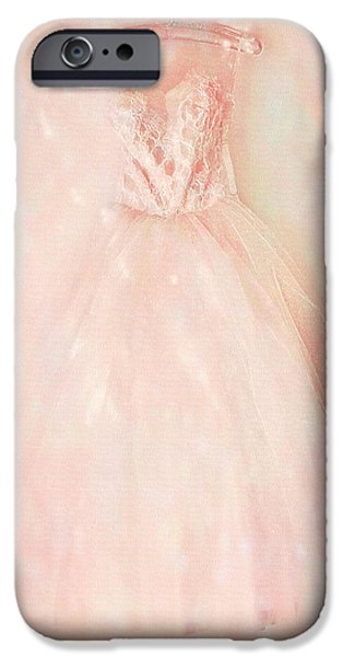 Little Girl iPhone Cases - Ready For The Magic iPhone Case by Theresa Tahara