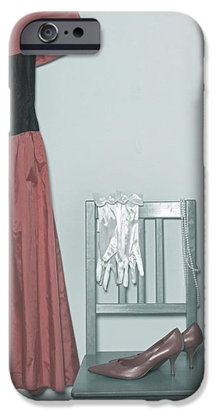 Coat Hanger iPhone Cases - Ready To Go Out iPhone Case by Joana Kruse