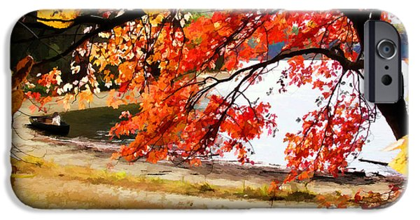 Walden Pond iPhone Cases - Ready to Launch at Walden Pond iPhone Case by Tom Christiano