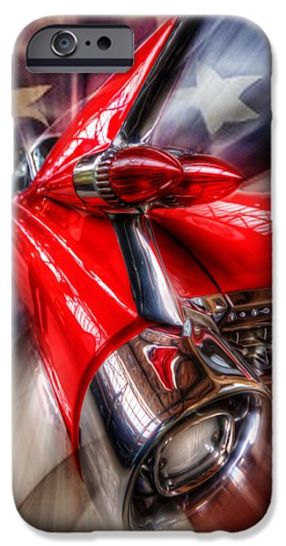 Old Digital Art iPhone Cases - Rear Caddy iPhone Case by Nathan Wright