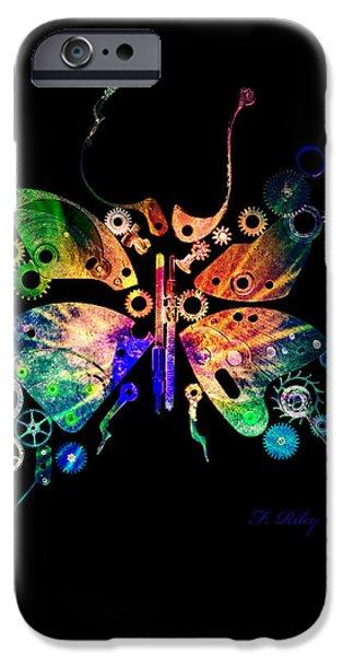 Rebirth iPhone Case by Fran Riley