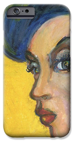 African-american Pastels iPhone Cases - Rebirth of the MoVement iPhone Case by Derrick Hayes