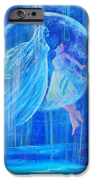 Rebirthing The Sacred Feminine iPhone Case by The Art With A Heart By Charlotte Phillips