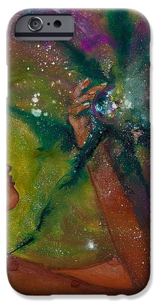 Recapturing Her Soul iPhone Case by Ilisa  Millermoon