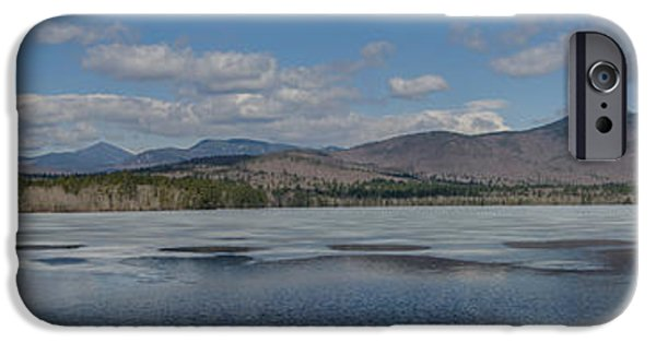Mt Chocorua iPhone Cases - Receding at Chocorua Lake iPhone Case by Scott Thorp