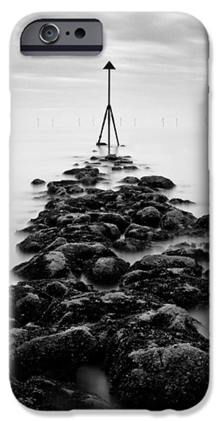 Receding Tide iPhone Case by Dave Bowman